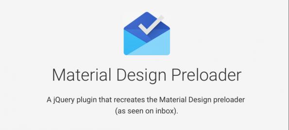 Material Design Preloader