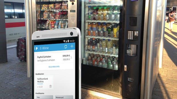 Wie ich einmal mit PayPal eine Cola aus dem Automaten ziehen wollte