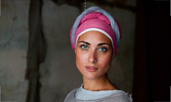 Perfekte Fotos: 7. Auge ins Zentrum. (Screenshot: Cooperative of Photography. Original: Steven McCurry)
