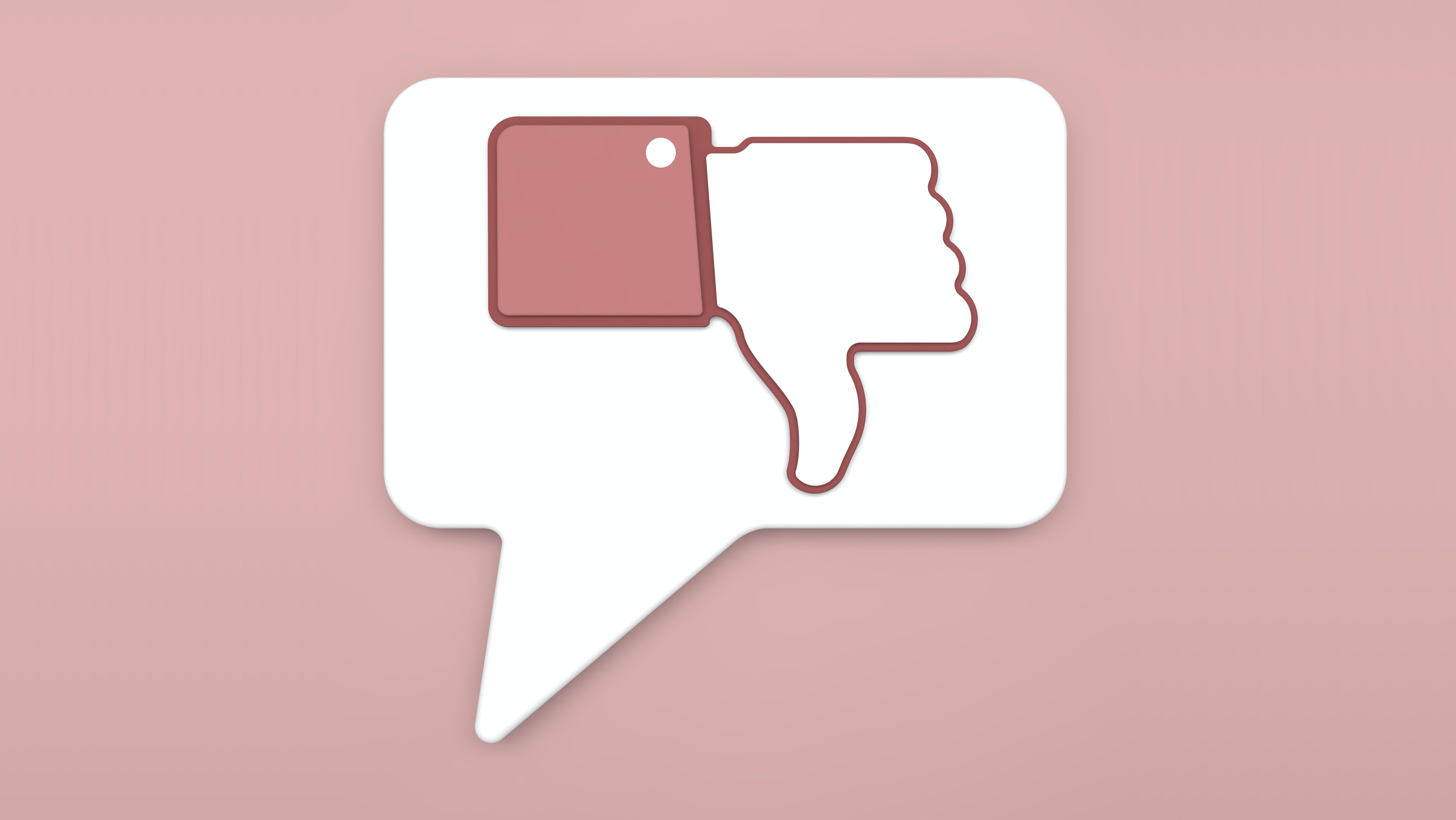 Facebook testet Downvote-Button für fragwürdige Kommentare