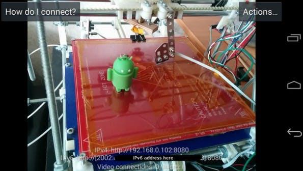 Altes Smartphone oder Tablet: Auch der Einsatz als Überwachungskamera ist denkbar. (Screenshot: Play-Store)