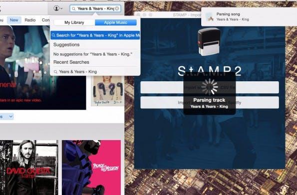 Von Spotify zu Apple Music wechseln: StAMP wandelt eure Playlists um. (Screenshot: StAMP)
