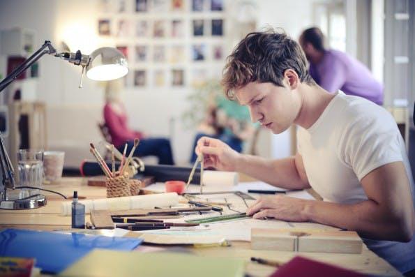 Designer aufgepasst! Typografie-Poster erklärt Fachbegriffe. (Grafik: Shutterstock-millann)