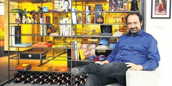 Yemeksepeti-Gründer und CEO Nevzad Aydin in seinem Büro. (Foto: NTV.com.tr)