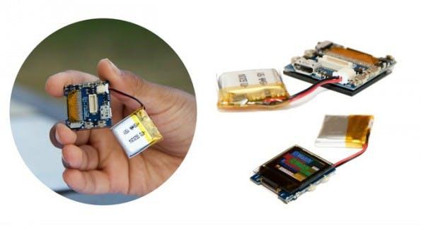 Arduino-Smartwatch: Die O Watch kann selbst zusammengebaut werden. (Foto: IoT4Kids)