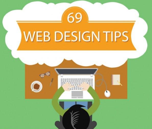 69 ultimative Tipps zur Gestaltung einer Webseite (Infografik: PSD to WordPress)