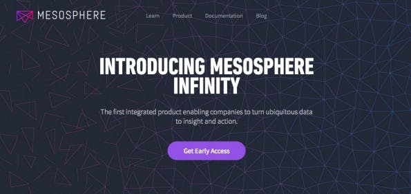 Big Data: Mesosphere Infinity verbindet Apache Mesos, Apache Spark, Apache Cassandra, Apache Kafka und Akka. (Screenshot: Mesosphere)