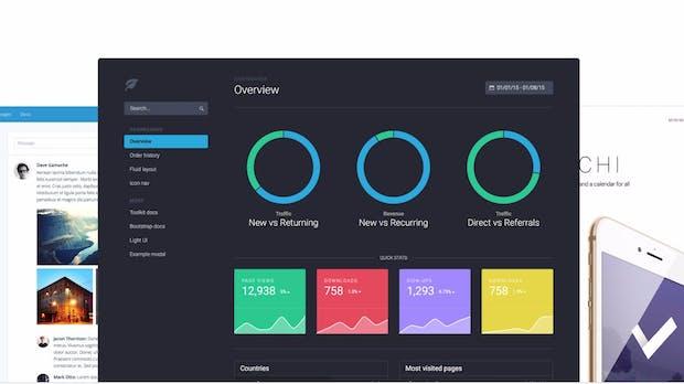 Frontend-Framework: Bootstrap 4 Alpha und offizieller Theme-Shop verfügbar