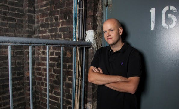 "Daniel Ek von Spotify: ""We have heard your concerns loud and clear!"" (Foto: Spotify)"