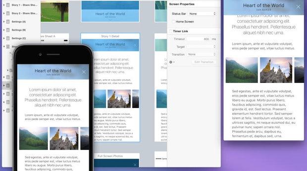 Interaktive App-Prototypen ohne eine Zeile Code: Flinto for Mac in der Kurzvorstellung