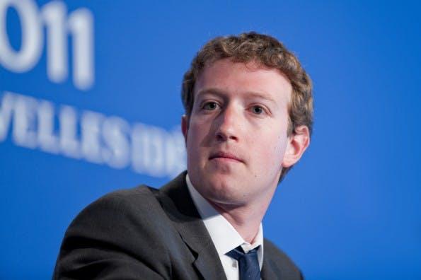 Die 100 reichsten Tech-Unternehmer: Mark Zuckerberg landet auf Platz 4 der Forbes-Liste. (Foto: Frederic Legrand - COMEO / Shutterstock.com)