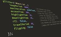 Einfache Texteffekte für eure Website: Das kann Glitter.js