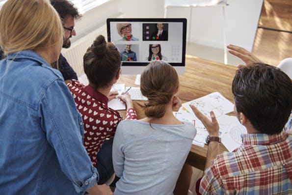 homeoffice video konferenz