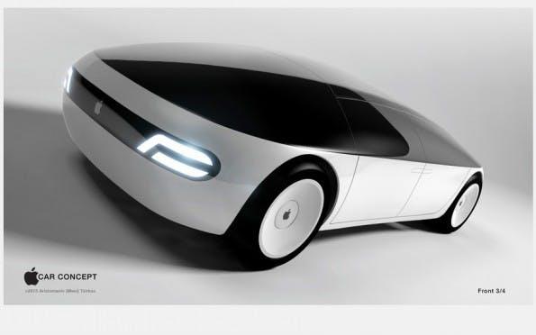 Designkonzept: So könnte das Apple Car aussehen. (Bild: menithings/Freelancer.com). Mehr Grafiken findet ihr in diesem Artikel.