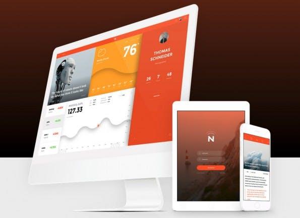 Now: Das kostenlose UI-Kit eignet sich für (fast) alle Plattformen. (Screenshot: invisionapp.com)