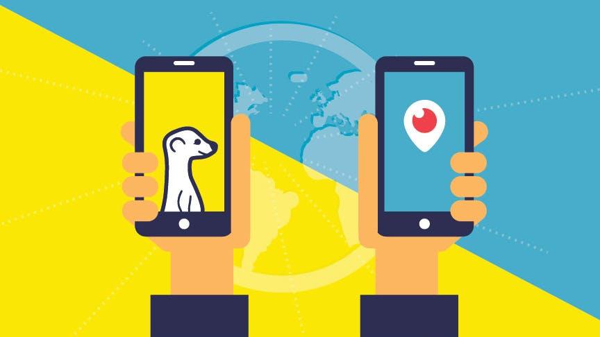 Live-Streaming als Marketing-Instrument: Was ihr über Periscope und Meerkat wissen müsst [Infografik]