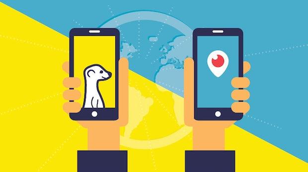 Live-Streaming als Marketing-Instrument: Was ihr über Periscope und Meerkat wissen müsst