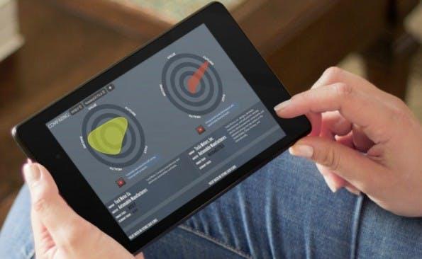 Trading leicht gemacht: Apps wie Simply Wall St. erleichtern durch anschauliche Visualisierungen den Einstieg. (Screenshot: Simply Wall St.)