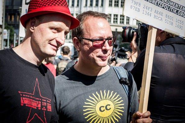 Andre Meister und Markus Beckedahl werden des Landesverrats bezichtigt. (Foto: Wikimedia / CC-BY 4.0)
