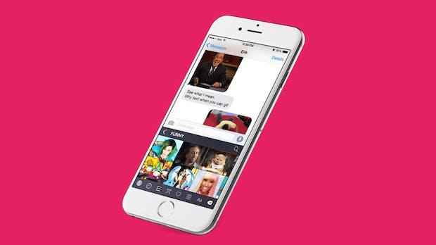 Ein GIF sagt mehr als 1.000 Worte: Mit dieser genialen iPhone-Tastatur treibst du deine Freunde zur Weißglut