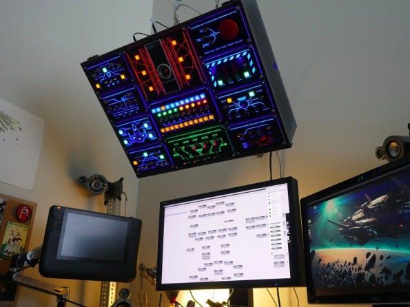 Wie aus einem Science-Fiction-Film: Auch so lässt sich ein Computer steuern. (Foto: smashcuts / Imgur)