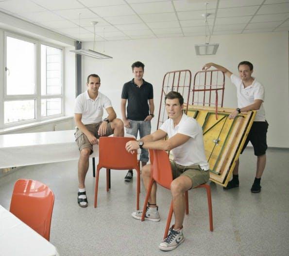 Das Team von Runtastic. (Foto: AplusB/Inventures.eu)