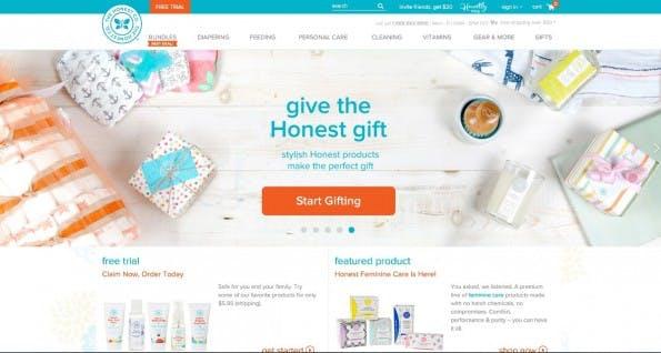 Startup-News: The Honest Company, das Startup von Jessica Alba, hat eine neue Finanzierung erhalten.
