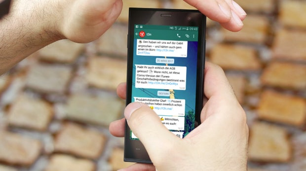 Hol dir die wichtigsten t3n-News direkt in deinen Messenger!