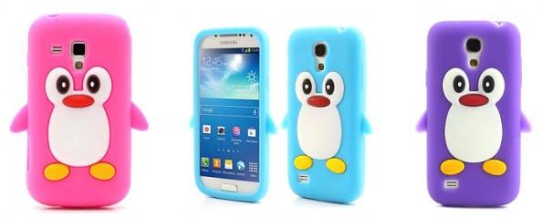 Smartphone-Hüllen in allen erdenklichen Farben, Formen und Materialien: Hier eine Pinguin-Hülle (Foto: MeinTrendyHandy)