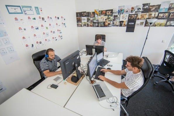 Im Büro von 99chairs sucht man Startup-Kitsch vergeblich. (Foto: Michael Hübner)