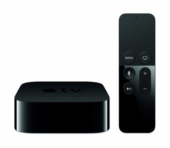 Das neue Apple TV verfügt über eine neuartige Fernbedienung. (Screenshot: Apple TV)