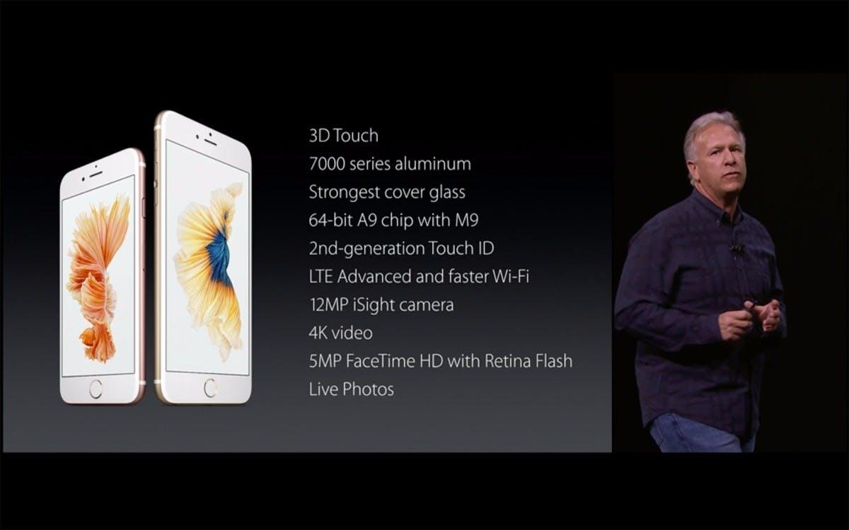 Viele Verbesserungen im Detail beim iPhone 6S und iPhone 6S Plus. (Quelle: Apple)