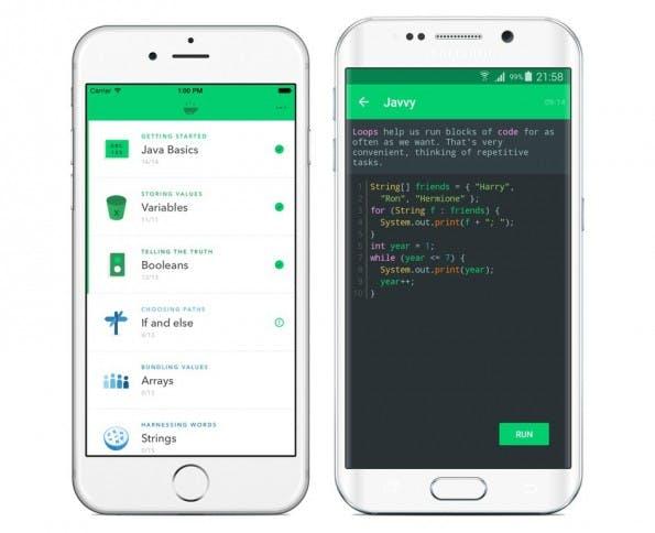 Mit Javvy soll Java programmieren lernen mehr Spaß machen. (Screenshot: Hello Code e. U.)