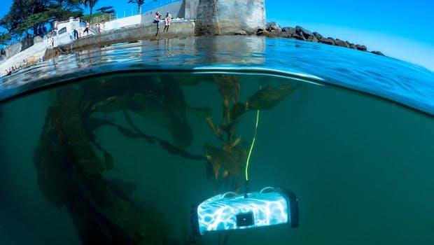 Spannende Projekte wie dieser Unterwasser-Drohne will Kickstarter zukünftig aktiv unterstützen. (Foto: OpenROV)