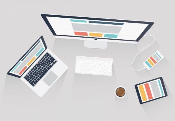 Ein Design für jedes Ausgabemedium. (Grafik: Shutterstock)