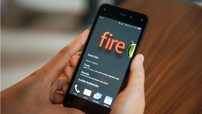 14 Monate nach dem Verkaufsstart verabschiedet sich Amazon vom Fire Phone. (Bild: Deutsche Telekom)