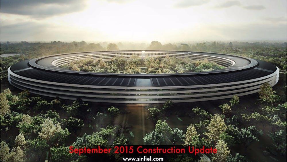 Der neue Apple-Campus. (Bild: cupertino.org)