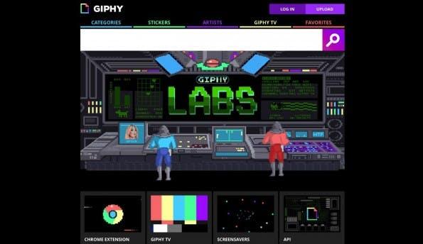 Giphy hält viele GIFs bereit. (Screenshot: Giphy)