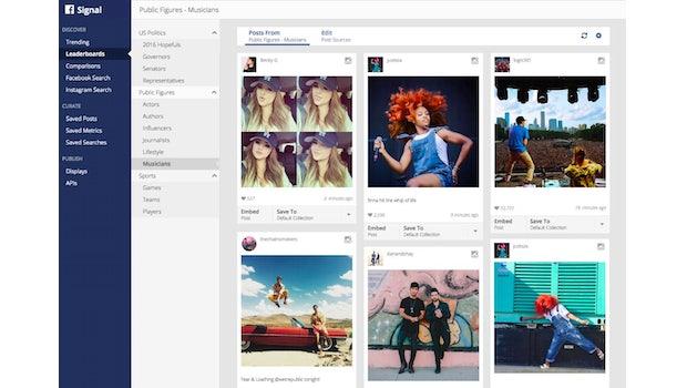 Facebook Signal: Soziales Netzwerk stellt neues Recherche-Werkzeug vor. (Screenshot: Facebook)