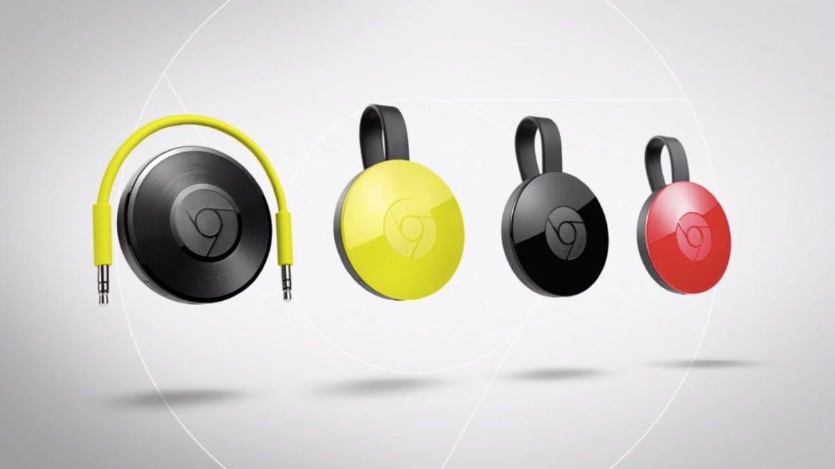 Chromecast Audio: Musik-Streaming-Lösung von Google. (Screenshot: YouTube)