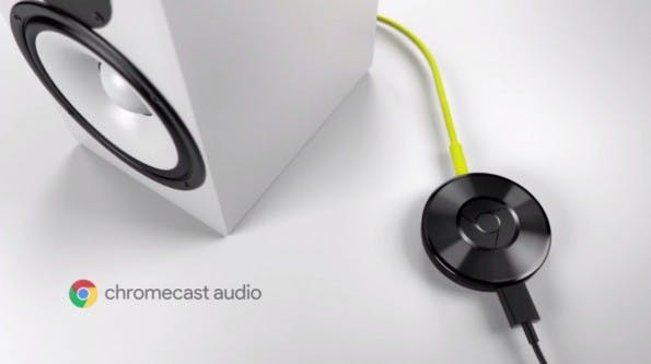 Chromecast Audio: Musik-Streaming-Lösung von Google. (Screenshot: YouTube)