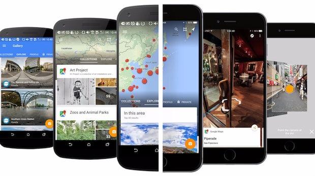 Bilder von der Straße: Google macht Street View zur Standalone-App und hofft auf Fotos der Community