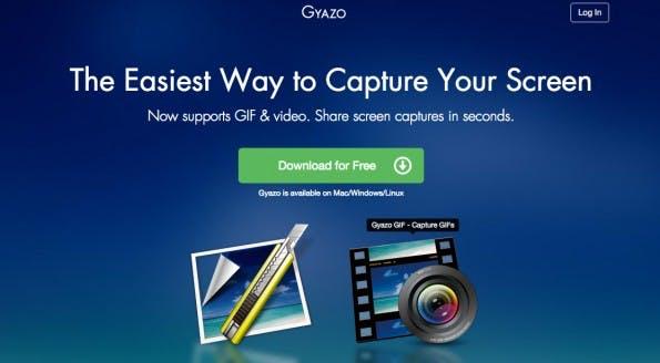 Gyazo gibt es für OS X, Windows und Linux. (Screenshot: Gyazo.com)