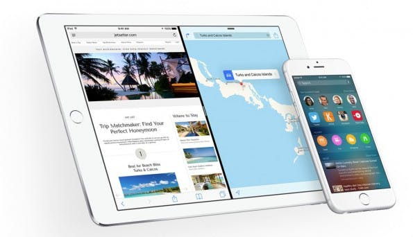 iOS 9 bringt für viele Apple-Geräte einen ganzen Haufen an Neuerungen. (Screenshot: Apple)