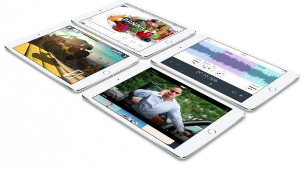 iPad Mini 4: Neuauflage wird dünner und schneller. (Grafik: Apple)