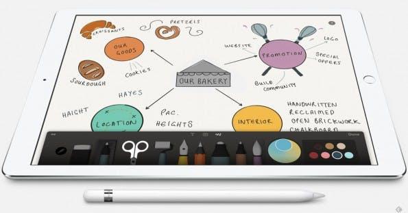 Die Kombination des Jahres? iPad Pro und Apple Pencil. (Quelle: Wacom)