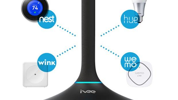 Mit ivee könnt ihr verschiedene Geräte per Sprachsteuerung kontrollieren. (Grafik: ivee)