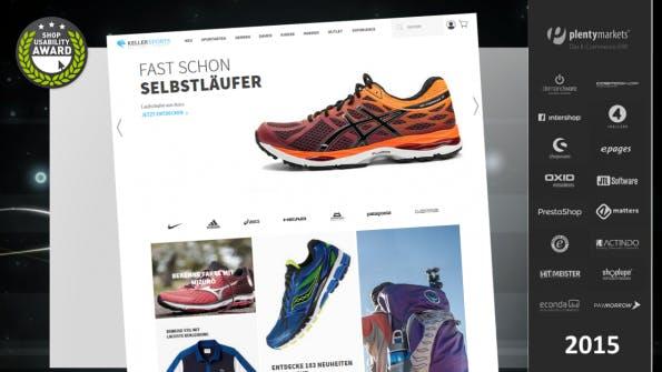 (Screenshot: Shop Usability Award)