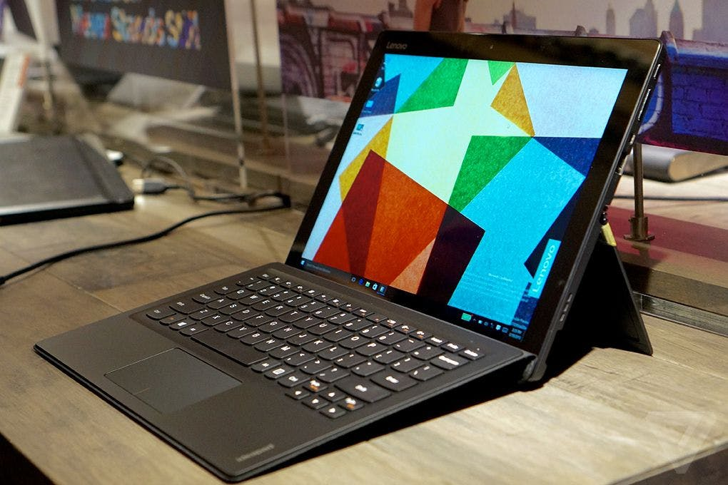 Tablet mit Tastatur-Dock: Das bringt das neue Lenovo Ideapad Miix 700