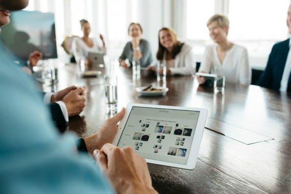 Mit der iPad-App von Mindflow sollen Meetings nicht nur produktiver, sondern auch spaßiger werden. (Foto: Mindflow)